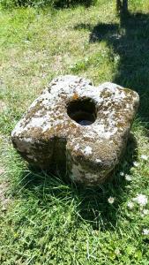 Contrepoids de pressoir du Vivier
